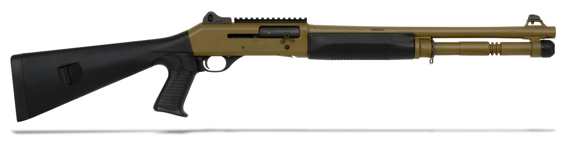 Benelli M4 12GA Pistol Grip Dark Earth 11791