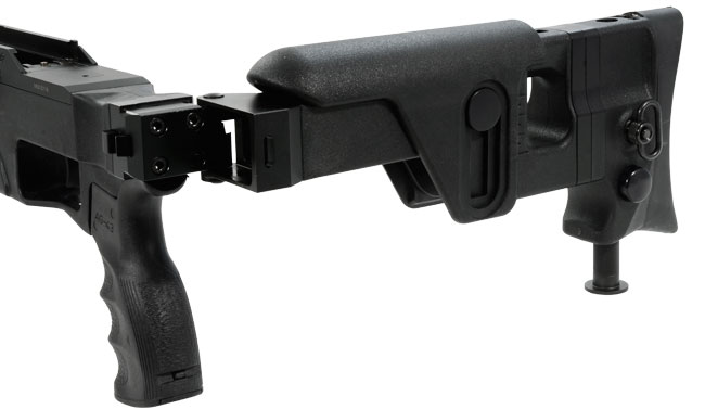 Blaser Tac2 Folding Stock Receiver