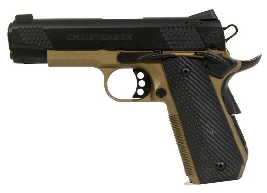 Christensen Arms Government Bob Tail .45 ACP Bronze Pistol
