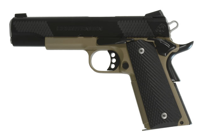 Christensen Arms Government Lite 5in-Classic FDE .45 ACP Pistol