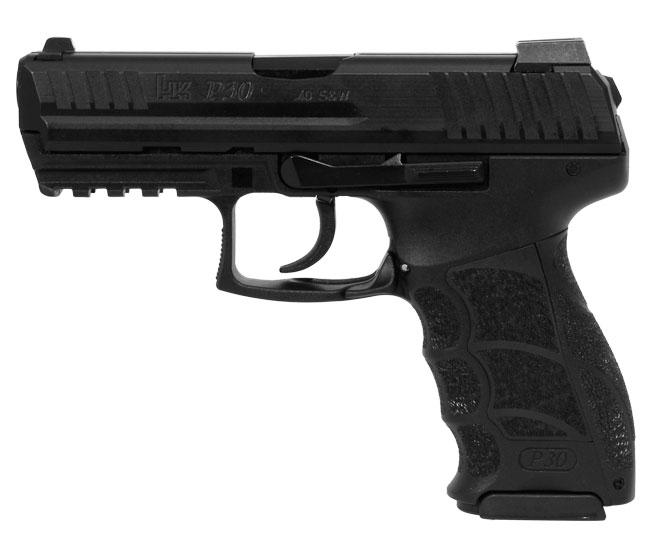 HK P30 Officer .40 V1 Light LEM Pistol 734001LE-A5