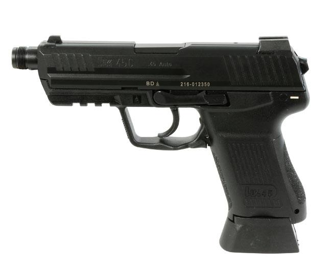 Heckler Koch HK45 Compact Tactical US V7 .45 ACP Pistol HK-745037T