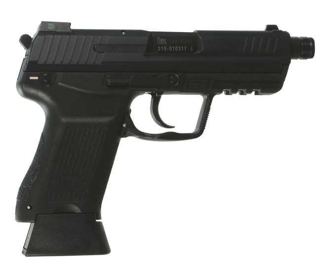 Heckler Koch HK45 Compact Tactical Officer .45 ACP Pistol HK-745031TLE-A5