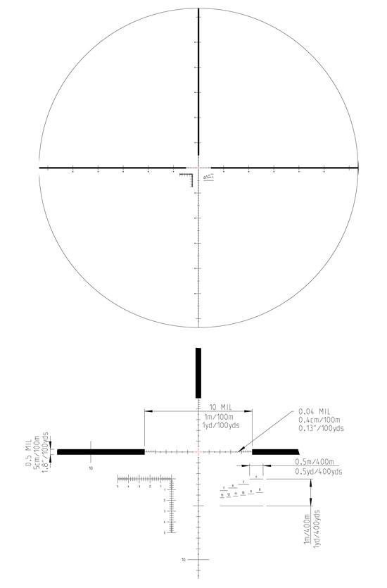 Kahles K624i 6-24X56 CCW MSR-K 10607