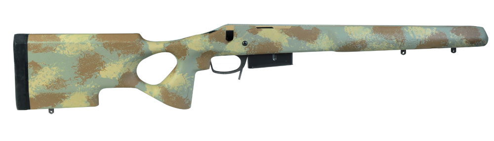 Manners T5 Remington 700 SA DBM Varmint Molded Forest Stock