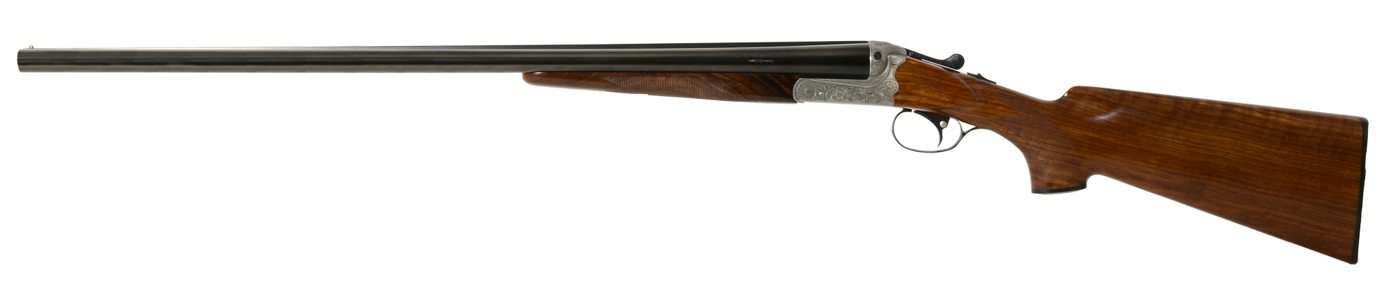 Merkel 147E SxS 12GA Shotgun 70147E1.8S3P