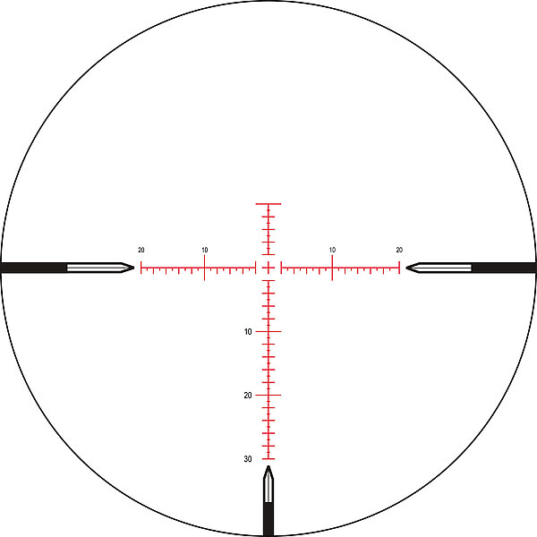 Nightforce NXS 2.5-10x24 ZeroStop MOAR Riflescope C462