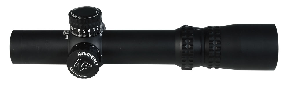 Nightforce NXS 1-4x24 Zerostop IHR Riflescope C465