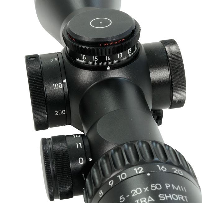 Schmidt Bender PMII 5-20x50 L/P LT H59 Riflescope