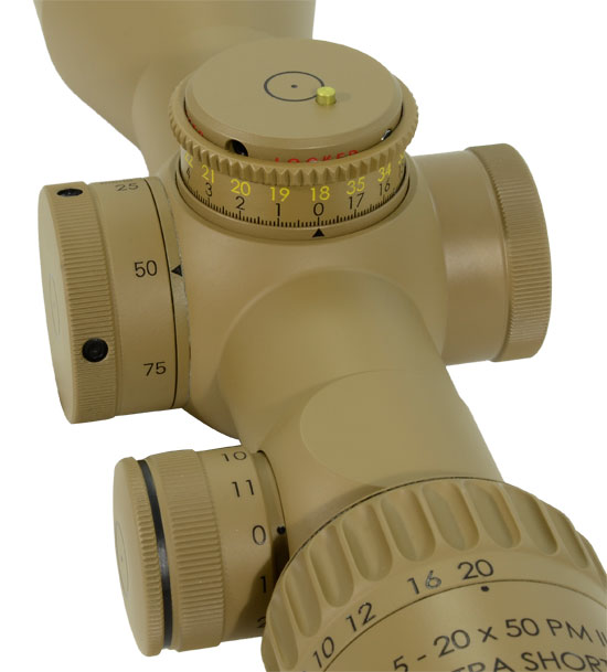 Schmidt Bender PMII 5-20x50 LP LT MTC/CT DT P4Fine Pantone Scope