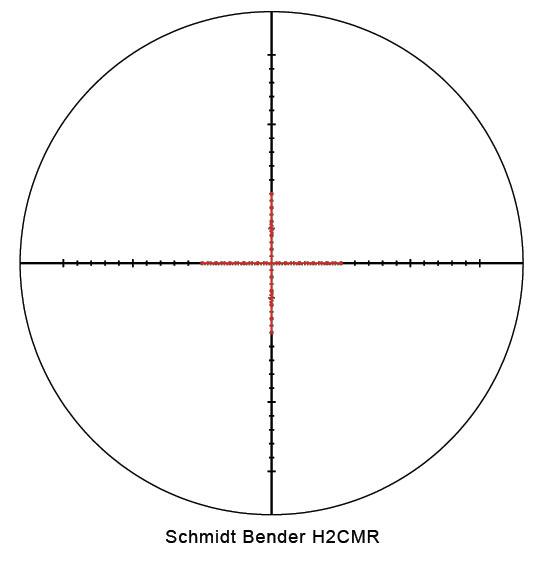 Schmidt Bender PMII 5-25x56 DT H2CMR Scope 677-911-922-94-67