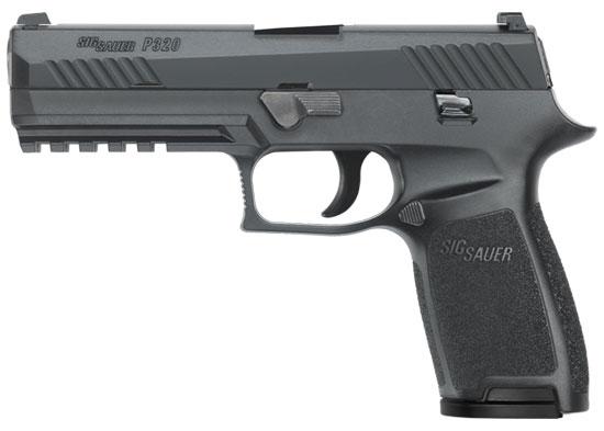 Sig Sauer P320 Full 9mm Pistol 320F-9-BSS