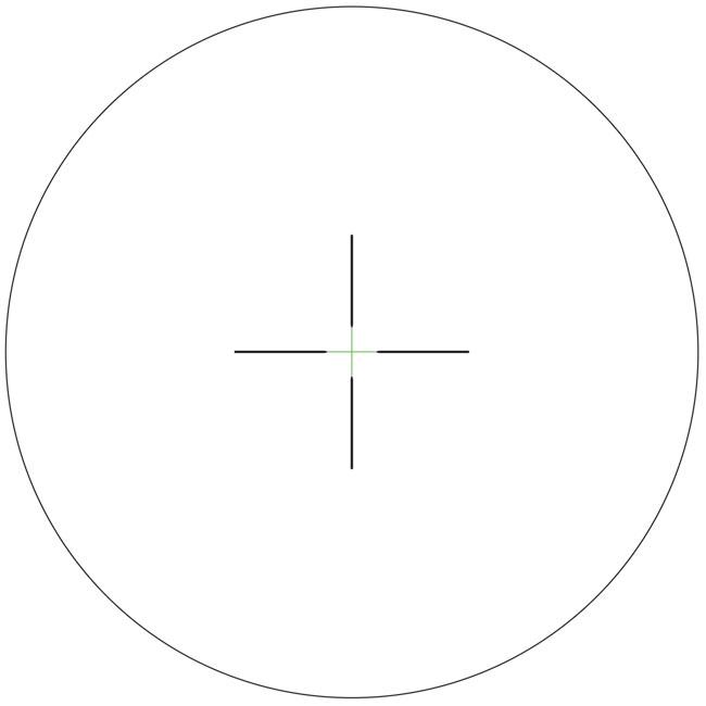 Trijicon AccuPower 3-9x40 APW Green Duplex Crosshair Scope 1900013