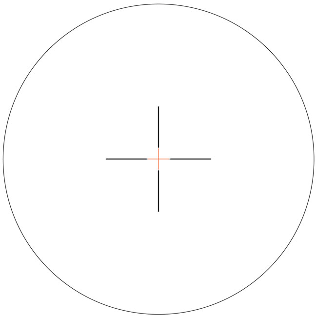Trijicon AccuPower 3-9x40 APW Red Duplex Crosshair Scope 1900012