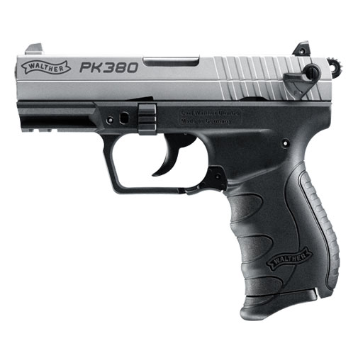 Walther PK380 .380 ACP Nickel 5050309