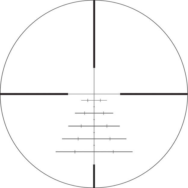 Swarovski Z3 4-12x50 BRX Riflescope Black 59027