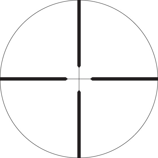 Swarovski Z6 2.5-15x56 BT Plex Riflescope Black 59510