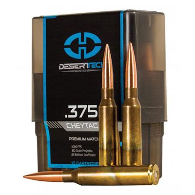Desert Tech 375 Cheytac 352gr Pts Match Dtm 375ct Pts For