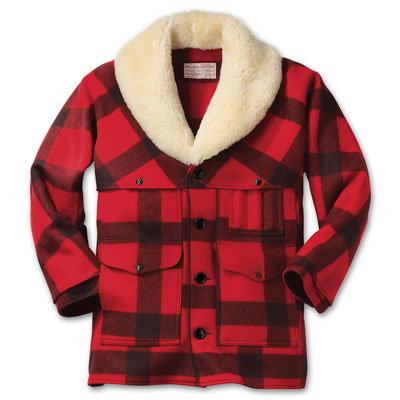 Filson Wool Packer Coat Red Black Plaid 10040 | SHIPS FREE ...