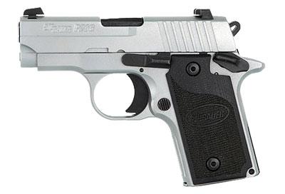 "Sig P238 White Chrome Pistol 238380WCR, 380 ACP, 2.7"", White ..."