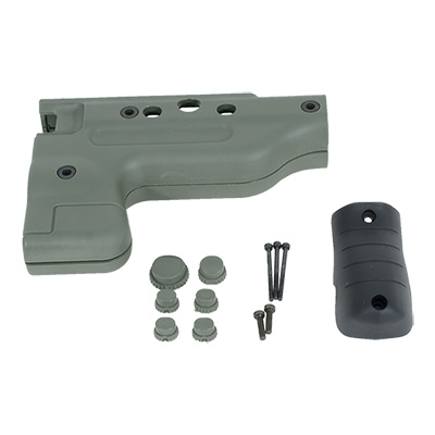AI Green Folding Pistol Grip Upgrade Kit 26648GR