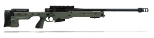 Accuracy International AT Rifle - Fixed Green Stock - 308 Win 24 inch threaded bbl std brake - small firing pin - R11029-CR|AT-308RFIGRQ24THSM