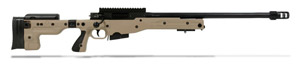 "Accuracy International AT 308 Win Folding Pale Brown 24"" SFP"