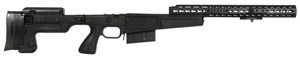 Accuracy International AX Chassis Long Action 338 CIP M700 Black, Pistol Grip, Folding Stock, 16' fo 25205AIBL