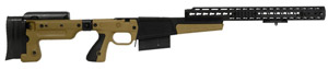 Accuracy International AX Chassis Long Action 338 CIP M700 Dark Earth, Pistol Grip, Folding Stock, 1 25205AIDE