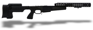 "Accuracy International AX Chassis Long Action 338 CIP M700 Black, Pistol Grip, Folding Stock, 16"" fo 25205FCBL"