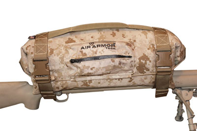 Air ArmorTech Inflatable Scope Cover Extreme 15 Desert Marshall