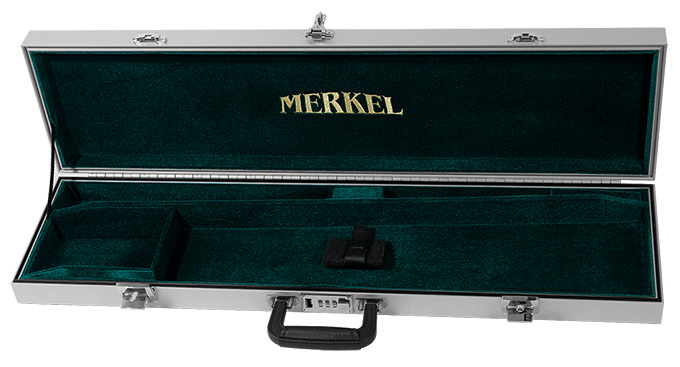 Americase hard trave case for Merkel Shotgun