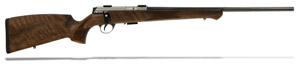 "Anschutz 1727 F Walnut German Stock, .17 HMR, 22"" - 013169"