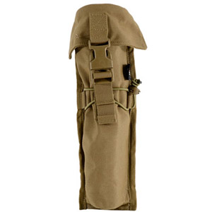 "Armageddon 10"" Suppressor Pouch Coyote Brown AG0225"