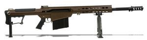 Barrett M107A1 Rifle System Multi Role Brown Receiver Black 20' Fluted Barrel 14556 14556