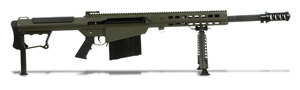 Barrett M107A1 Rifle System OD Green Cerakote Receiver Black 20' Fluted Barrel 14554 14554