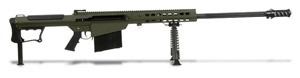 Barrett M107A1 Rifle System OD Green Cerakote Receiver Black 29' Fluted Barrel 14555 14555
