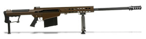 Barrett M107A1 Rifle System Multi Role Brown Receiver Black 29' Fluted Barrel 14557 14557