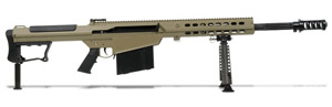 Barrett M107A1 Rifle System Tan Cerakote Receiver Black 20' Fluted Barrel 14558 14558