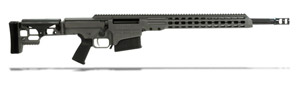 "Barrett MRAD 338 Lapua Rifle System - Grey Cerakote Receiver - 20"" Black Fluted Barrel Showroom Demo 14384"