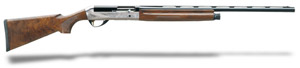 "Benelli Legacy AA-Grade satin walnut, Nickel/blue, Etched game scene 26"" 20ga 10420"