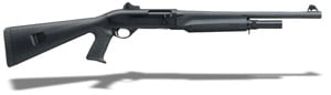 "Bennelli M2 Tactical Black synthetic, Pistol grip, Ghost-ring sight 18.5"" 11052"
