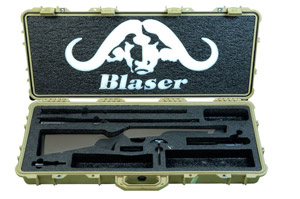 Blaser R8 .300 Win Mag Professional Safari Rifle (Savanna Color)-UB742