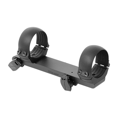 Blaser Quick Detach Saddle Mount with 30mm low alloy rings 988402