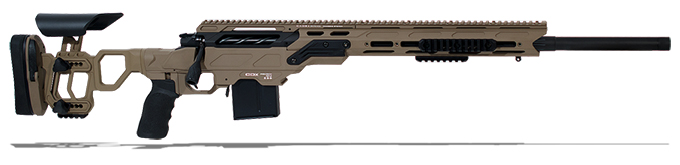 "Cadex Guardian Tac rifle with Skeleton Buttstock, 6.5 Creedmoor,24"" MPN CDX30-TAC-6.5-24"