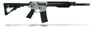 Christensen Arms CA-15 Recon silver receiver, carbon wrap 223, 16 inch bbl, Magpul CTR stock, one 30