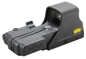 EOTech 512.LBC Holographic Sight AA battery; reticle pattern with 65 MOA ring and 1 MOA dot with LBC 512.LBC