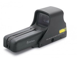 EOTech Holographic Sight, Ballistic Reticle for .50 Cal 552.XR500