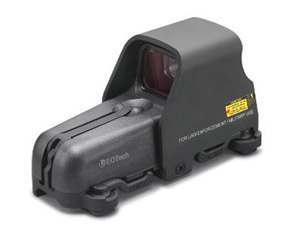 EOTech Holographic Sight, 65 MOA ring, 1 MOA dot, Black 553.A65BLK