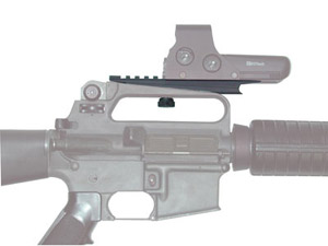 M16/AR15 Carry Handle with Extended Rail for NV Systems 9-ARMS-2EXT